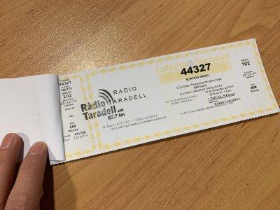 Número loteria Ràdio Taradell