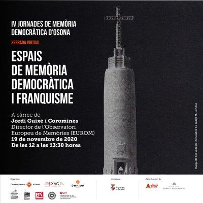 IV Jornades de Memòria Democràtica d' #Osona  (1)