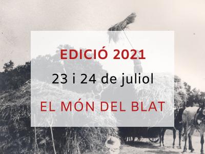 Jornades de Patrimoni 2021 - El món del blat