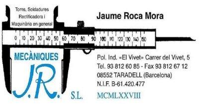logo Mecàniques J. R, S. L.