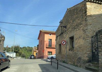 Cruïlla carrer Ramon Pou i carrer Sant Sebastià