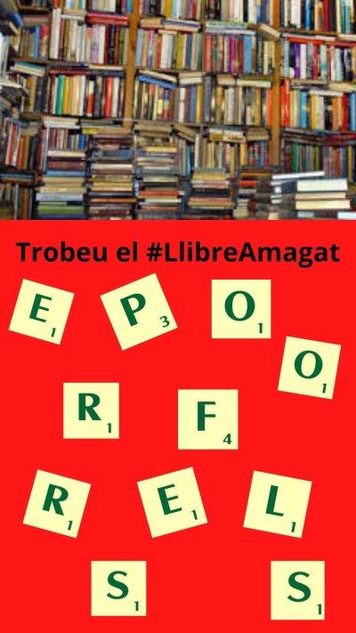 Joc del #LlibreAmagat