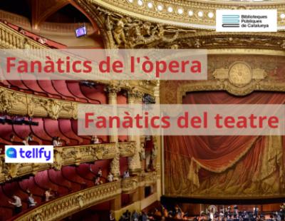 Cartell fanàtics òpera i teatre