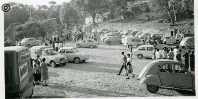 Festa de benedicció de la campana i l'ermita de Sant Quirze, el 2 de juliol del 1967 (Arxiu Fotogràfic Taradell | Autor desconegut)