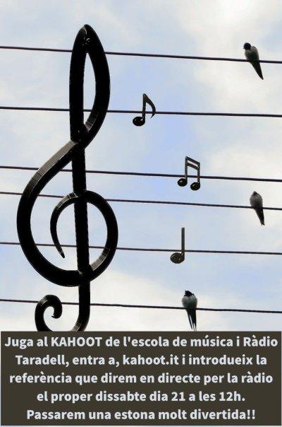 Kahoot Escola de Música