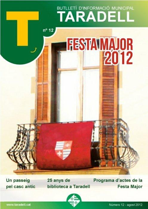 Butlletí Informació Municipal 12 Agost 2012