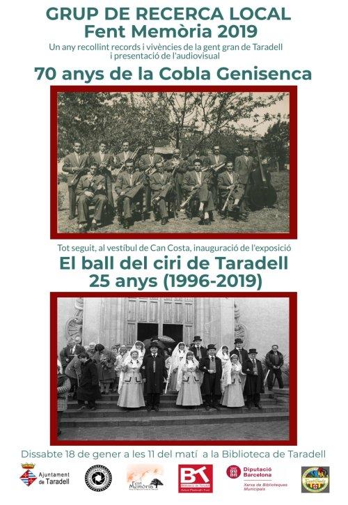 cartell acte Grup de Recerca Local