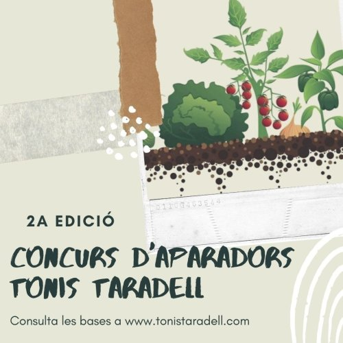 Cartell 2n Concurs d'Aparadors Tonis Taradell