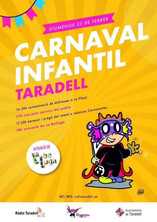 Cartell Carnaval Infantil 2020