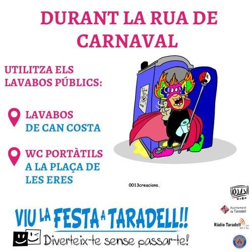 Lavabos Carnaval