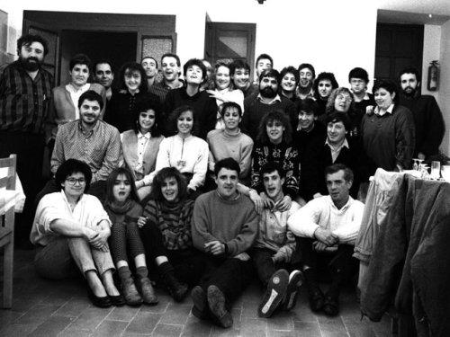 Col·laboradors de l'emissora l'any 89.
