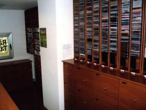 Sala de discografia.