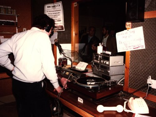 Així era l'estudi a la Torre del Tint.