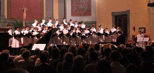 Concert de l'Escolania de Montserrat a Taradell.