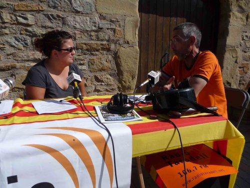 Ràdio en directe des del Mercat del Segle XVII.