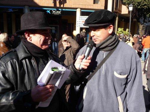 Quim Pujadas i Josep Preseguer, durant la retransmissió dels Tonis.