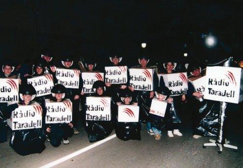 Ràdio Taradell, pregoners del Carnaval del 2003.