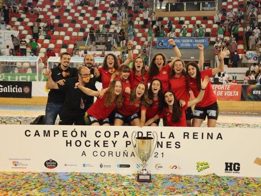 El taradellenc Jordi Boada guanya la Copa de la Reina d'hoquei patins