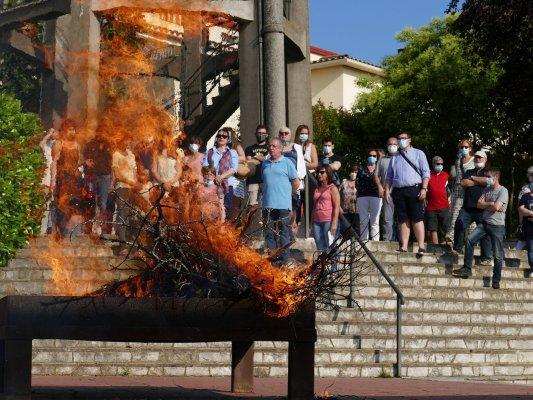 Dimecres, la Flama del Canigó tornarà a Taradell
