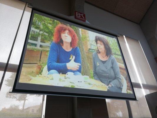 El Grup de Recerca presenta un documental sobre els 40 anys de l'escola Les Pinediques