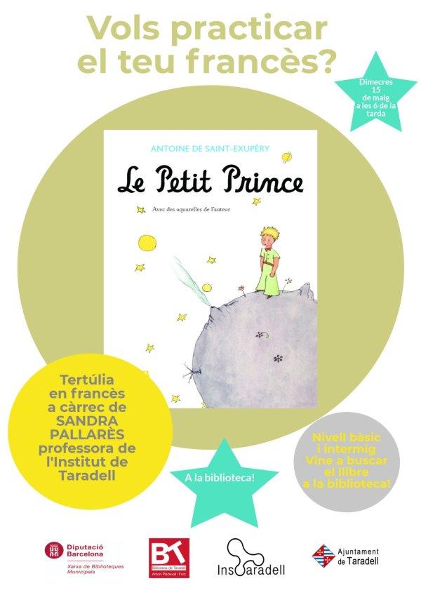 La Biblioteca de Taradell us proposa un Club de Lectura en francès