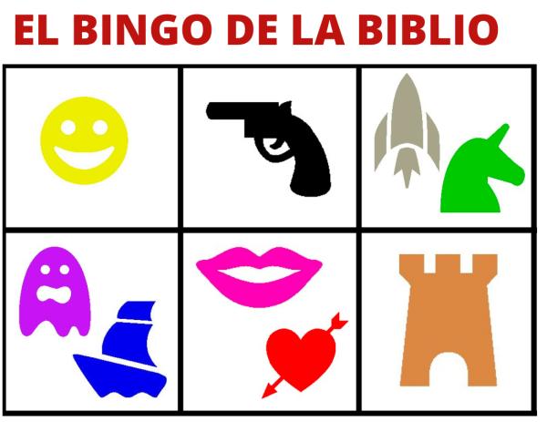 Participa al 'Bingo de la Biblio'