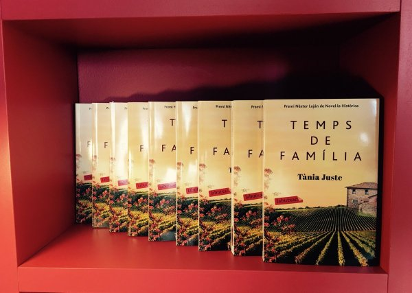 'Temps de família' de Tània Juste, al Club de Lectura del mes de setembre