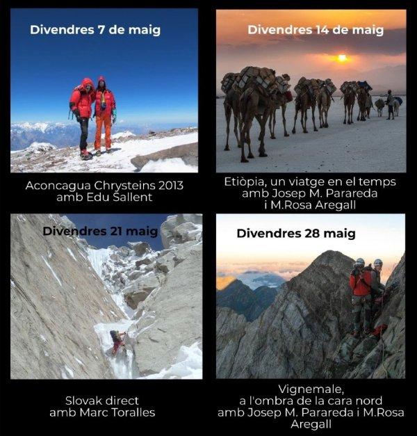 36a edició del cicle de projeccions del Centre Excursionista Taradell