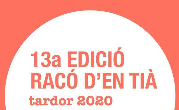 Inscripcions obertes per a la tretzena edició d'El Racó d'en Tià