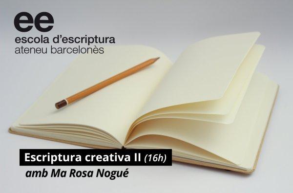 Inscripcions obertes pel curs d'escriptura narrativa amb Maria Rosa Nogué