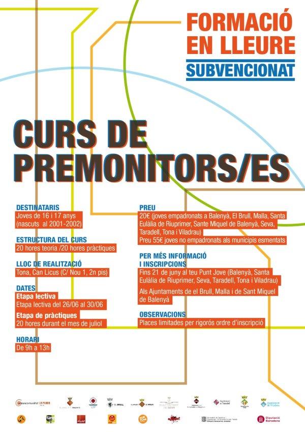 curs premonitors 01