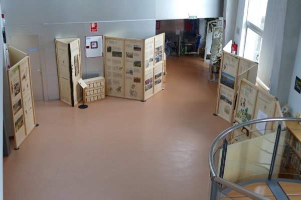 L'exposició 'Espai Natural de les Guilleries-Savassona' arriba a la Biblioteca
