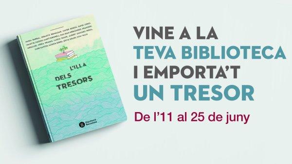 La Diputació de Barcelona et regala el llibre 'L'illa dels tresors'