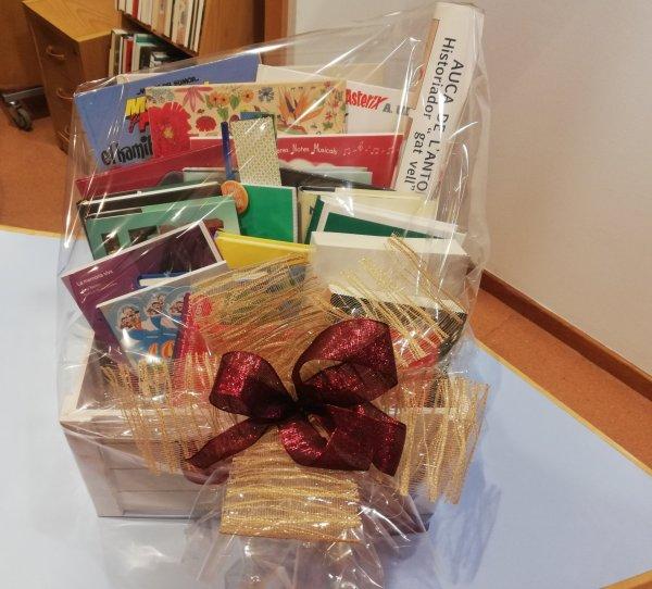 La Biblioteca de Taradell sorteja una magnífica Bibliopanera de Nadal