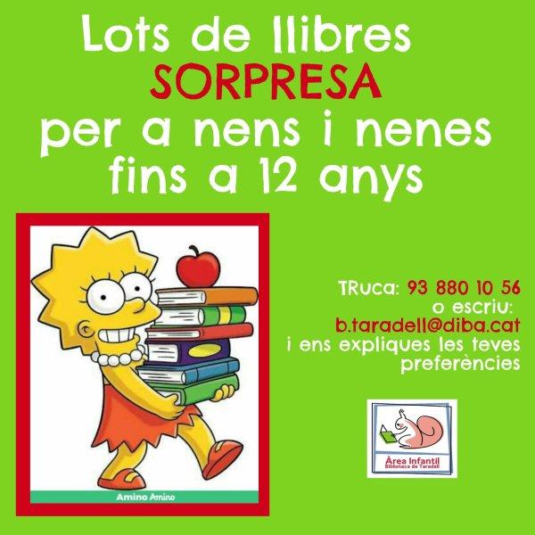 La Biblioteca ofereix lots de llibres sorpresa i a la carta per a infants i adults