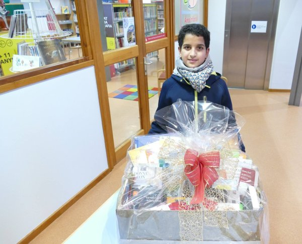 Mohamed Belhaj, de Taradell, guanya la Bibliopanera