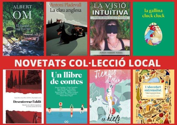Els llibres dels autors locals del darrer any