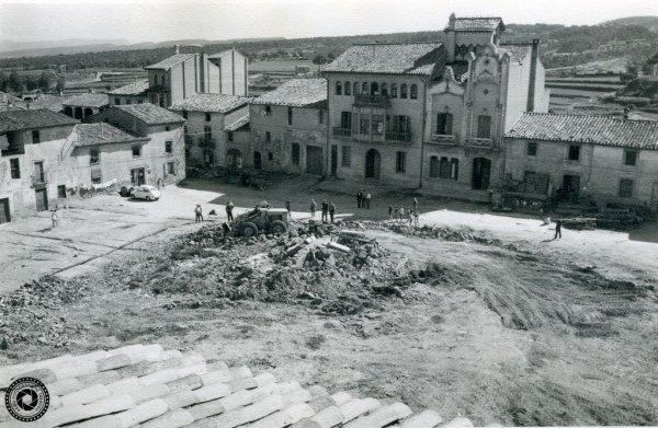 Exposició 'La plaça de les Eres' realitzada per l'Arxiu Fotogràfic de Taradell
