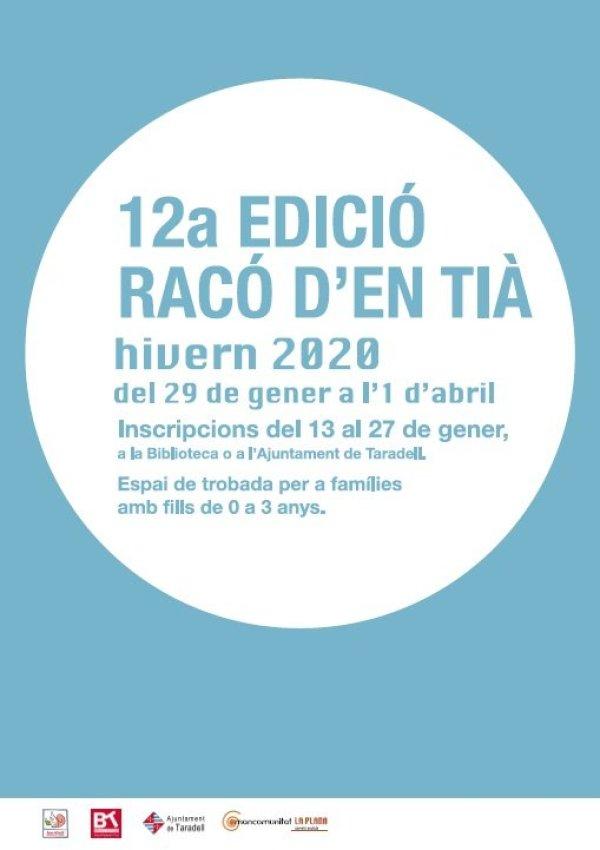 Inscripcions obertes per la dotzena edició del Racó d'en Tià
