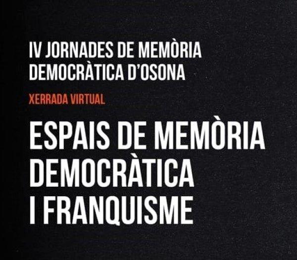 VÍDEO: IV Jornades de Memòria Democràtica d'Osona
