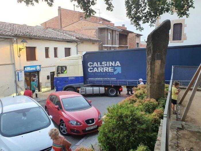 Camió encallat (2)