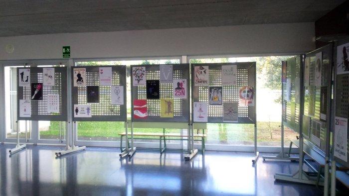 Exposició Cartells 25N Ins Taradell