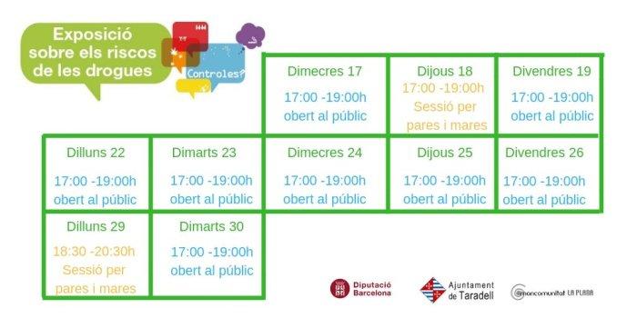 horari obertura expo