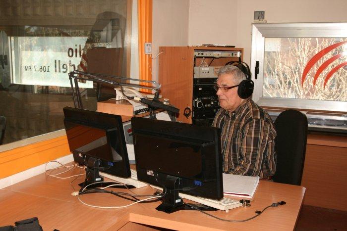 Ramon Solerdelcoll, locutor Ràdio Taradell
