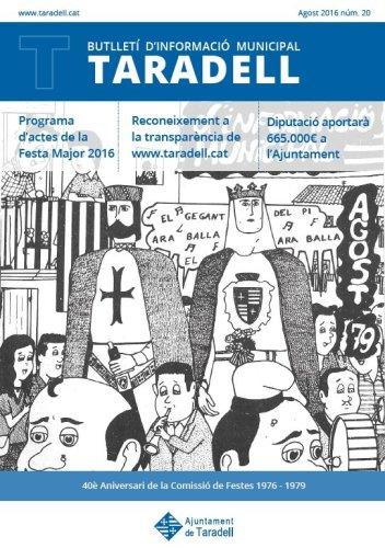 Butlletí d'informació municipal Taradell nº 20