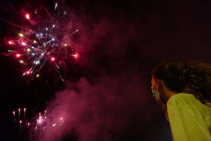GALERIA DE FOTOS: Sardanes-berenar i Castell de focs