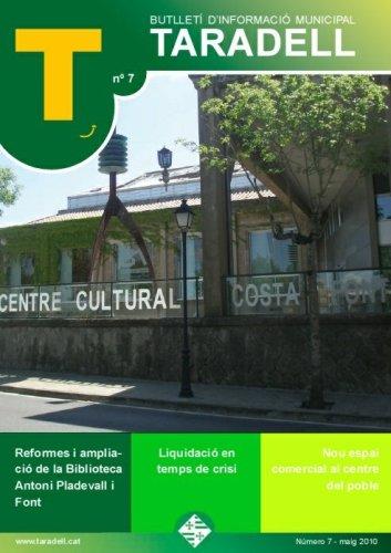 Butlletí d'informació municipal Taradell nº 7