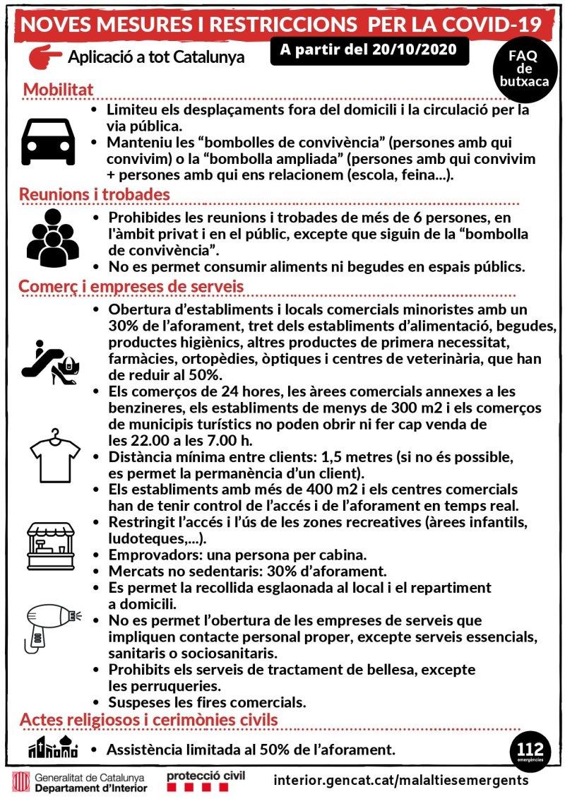 Mesures prevenció Covid-19
