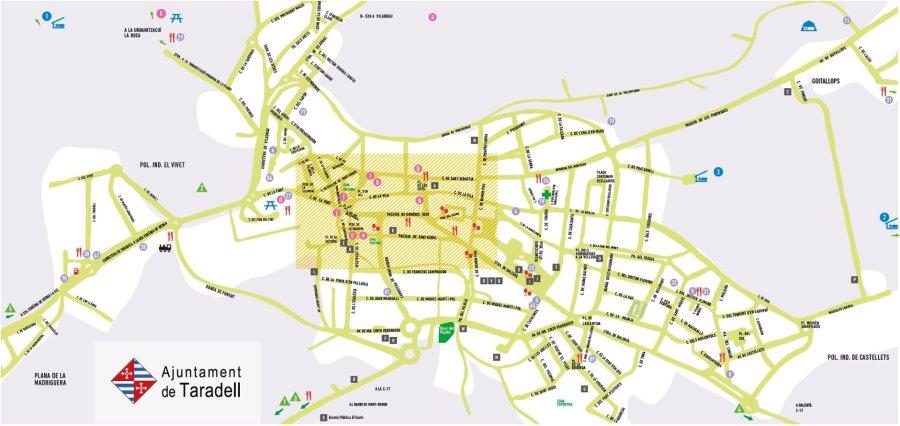 Plànol del municipi