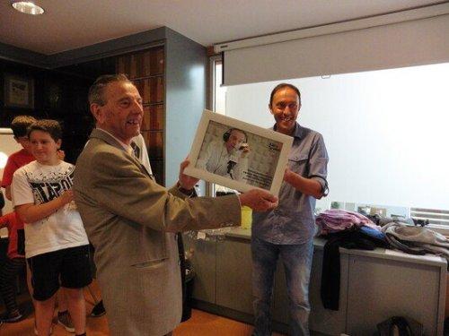 Homenatge a Josep Garcia.